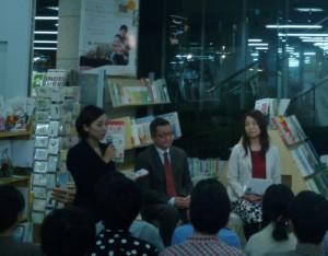 著者:上阪さんと今村さんのトークセッション