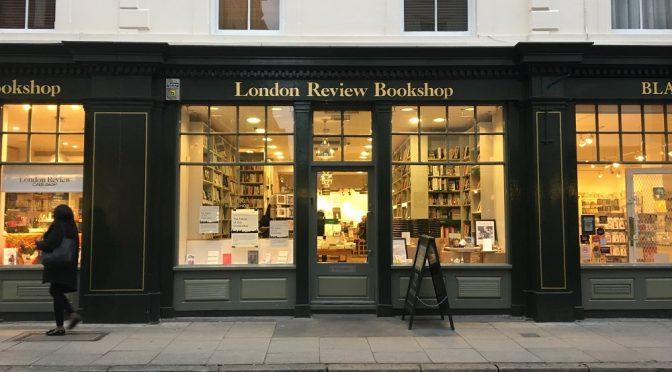 今年もロンドン・ブックフェアに参加。出版社が運営する書店、London Review Bookshopも訪問しました。